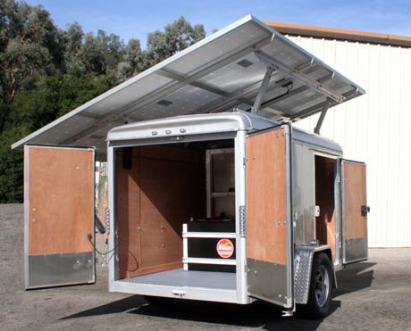 Ms 225 Solar Trailer Mobile Solar